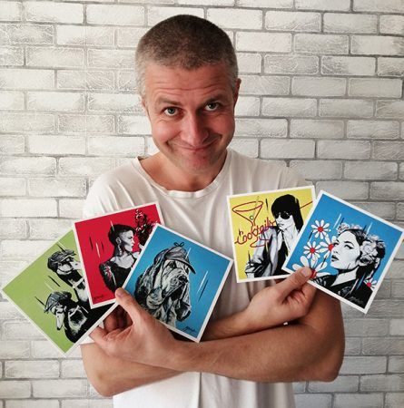 Jay with FAB Cards Set 1