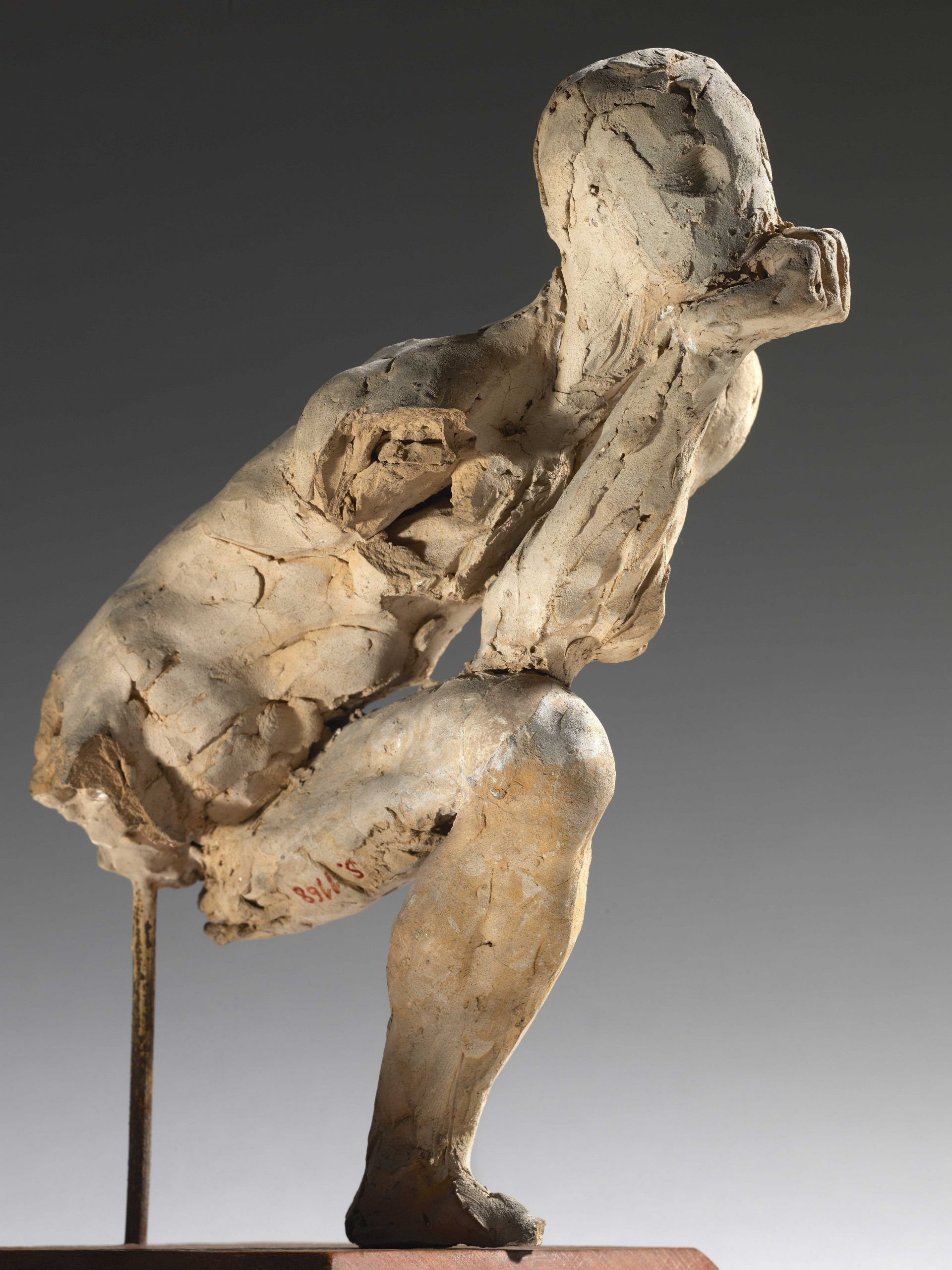 Auguste Rodin Study for The Thinker